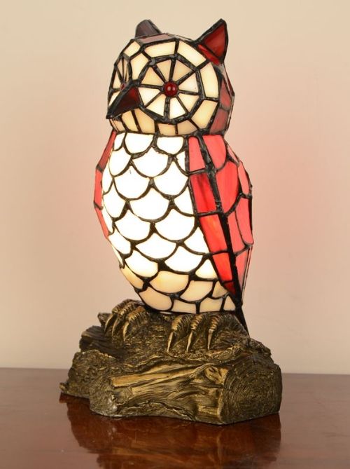 Owl Lamp owl tiffany table lamp JZRIMKP