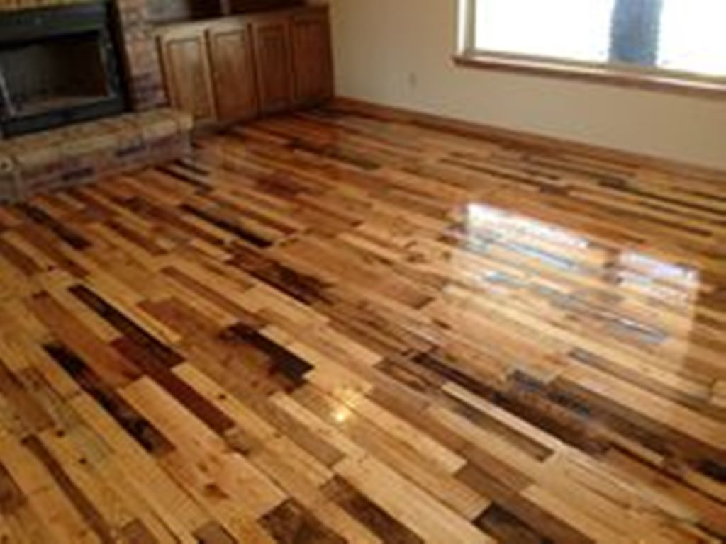 pallet wood floor bathroom YNGQUXJ