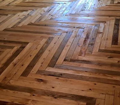 pallet wood floor wood pallet flooring ZUNPRLI