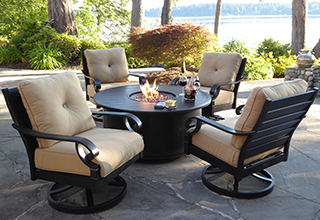 Patio Sets elegant patio furniture. elegant outdoor patio set with fire pit furniture  stunning DQGVRQS