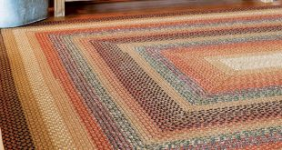 peppercorn multi color cotton braided rugs OIZMDBE