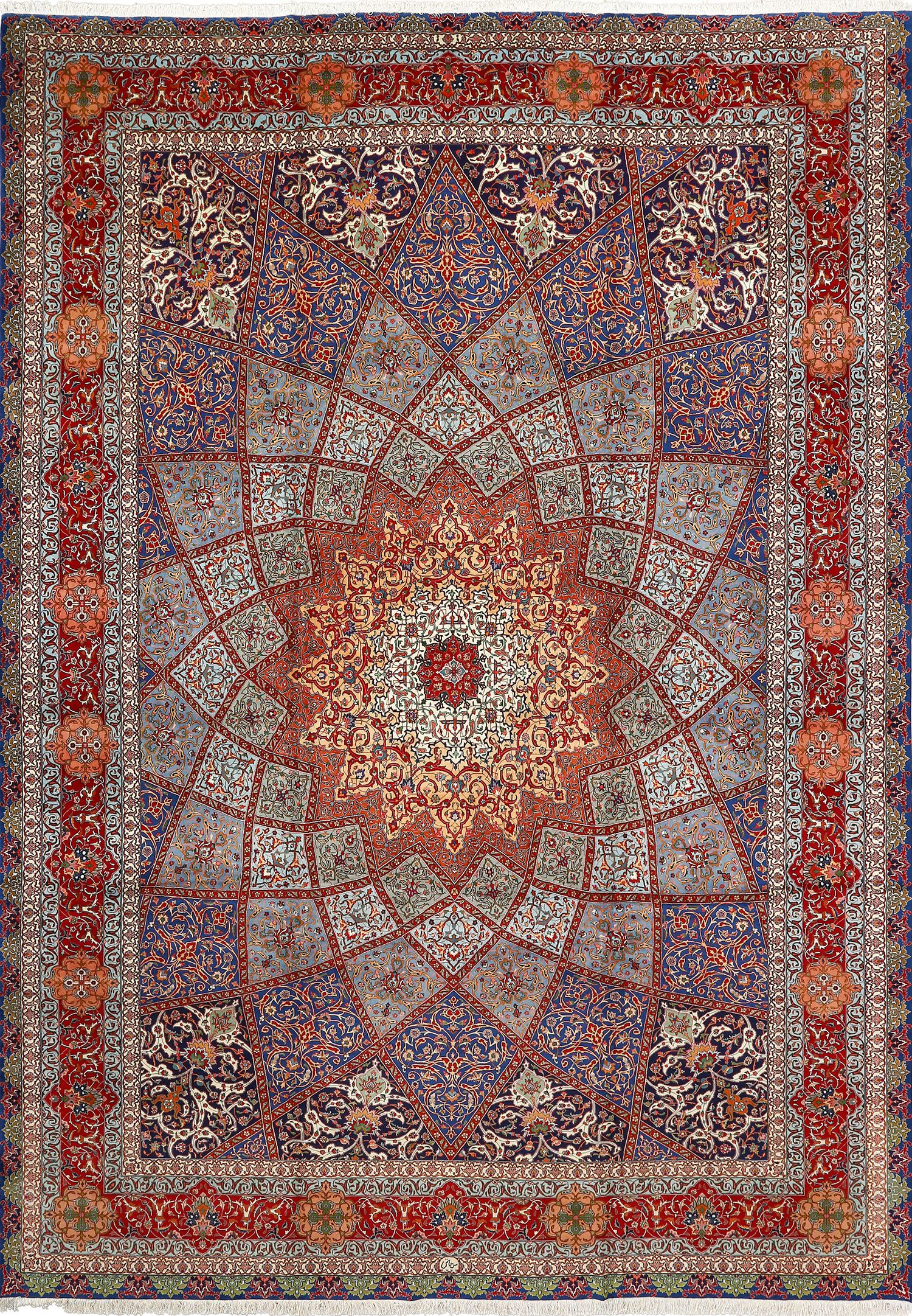 persian rugs fine gonbad design vintage tabriz persian rug 51042 nazmiyal ACCTURV