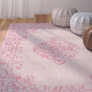 pink rug payne hand-woven bright pink/blush area rug AWLKDKD