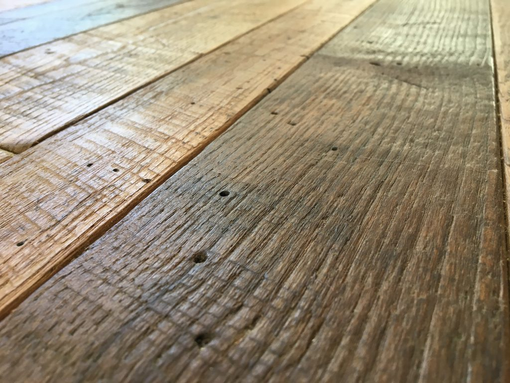 reclaimed wood floors thickness ... NRXVLNR