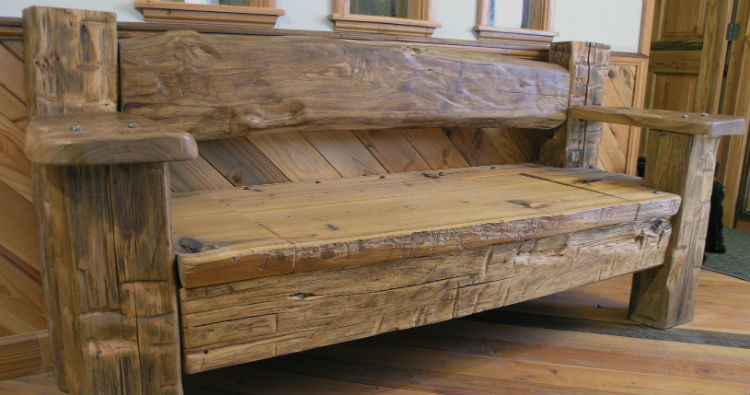 reclaimed wood furniture CYUQPKJ