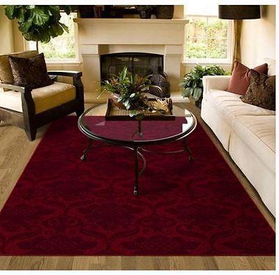 red rugs for living room area rug carpet burgundy red pattern lounge dining bedroom living room  family PLMOYQN