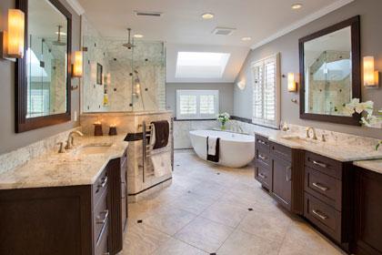 remodeled bathrooms large bath remodel - $60k - $100k+ TICCELV