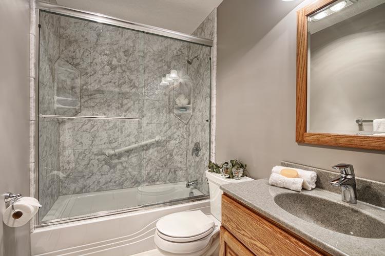 remodeled bathrooms one day bath remodel FLUPUZX
