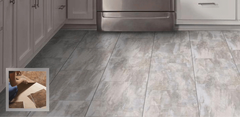resilient flooring vinyl tile flooring DJQRDSB