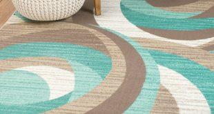 rick teal area rug RHMJFRY