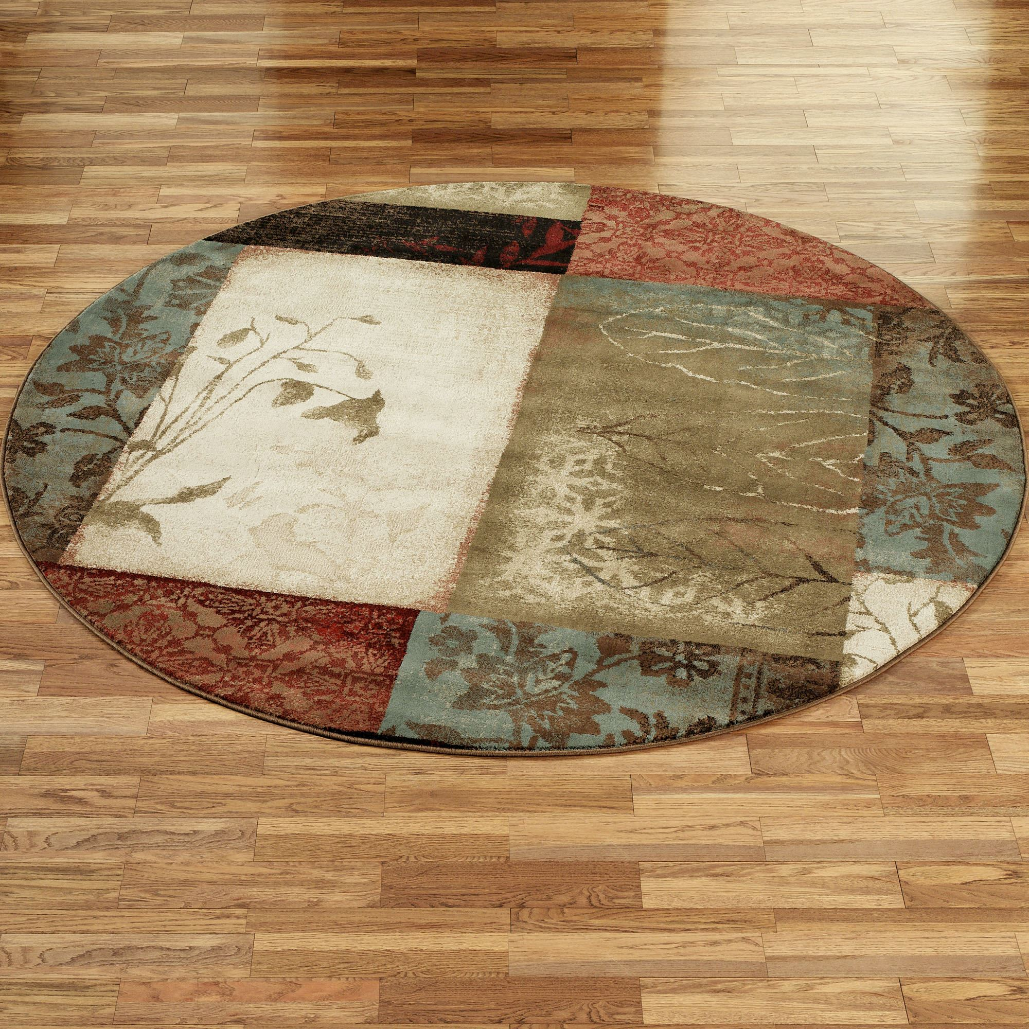 round area rugs impression leaf round rug AIZCXBR
