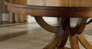 Round Pedestal Dining Table hooker furniture tynecastle round pedestal dining table with one 18 XFRBQHP