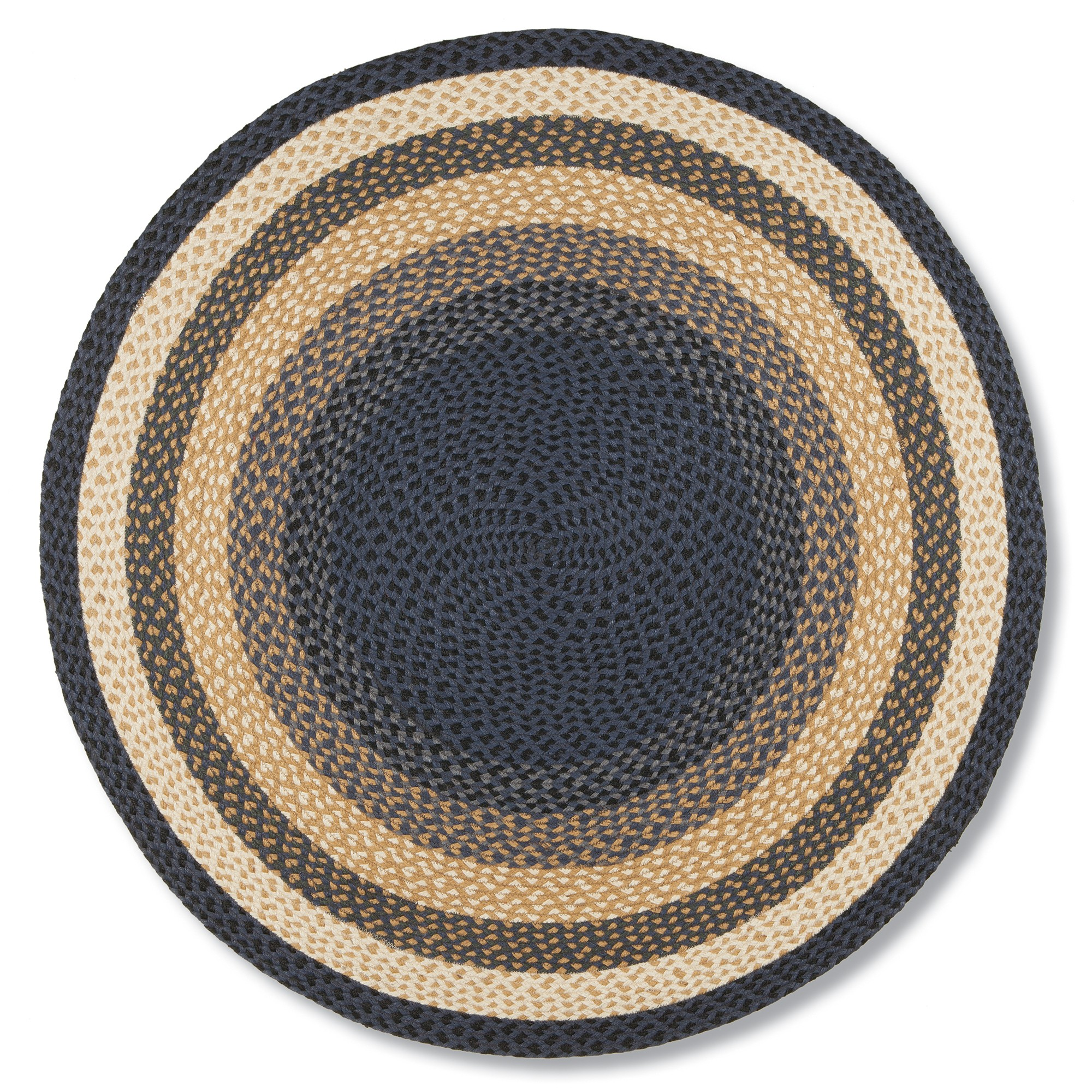 round rugs country gold round braided jute rug ALRESYQ