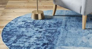 round rugs distressed rococo wool rug - round | west elm CTIJHGC