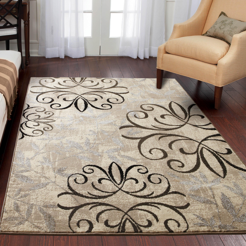 runner rug better homes and gardens iron fleur area rug or runner OZPCYTD