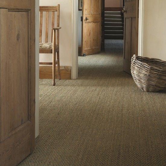 Natural seagrass carpets