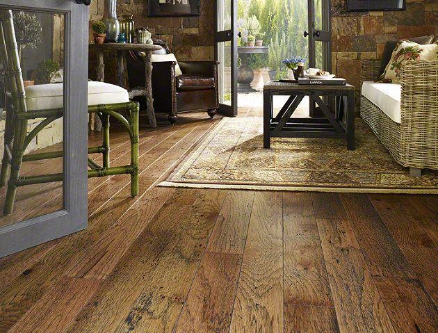 shaw hardwood hardwood rosedown hickory - sw221 - burnt sugar - flooring by shaw VMRBEHK