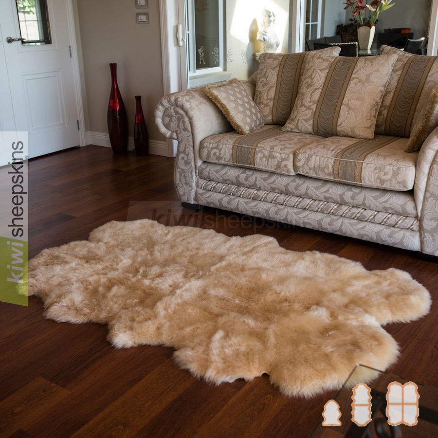 Sheepkin rugs classic medium spring lamb sheepskin rugs TTTWJYD