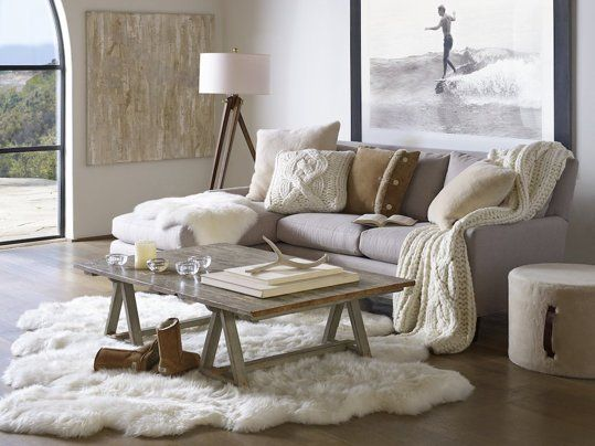 sheepskin rug ideas 4 decadent ways to warm up this winter - ugg home ways to RUUTVWS