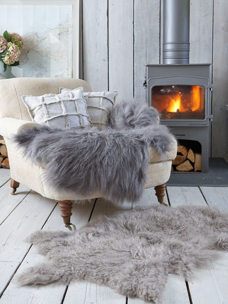 sheepskin rug ideas sheepskin rug reading nook OCCPEMH