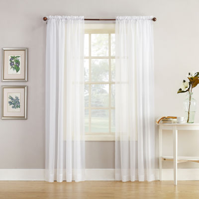 Sheer Curtain 54 inch sheer curtain panels sheer curtains for window - jcpenney CHPGLLH