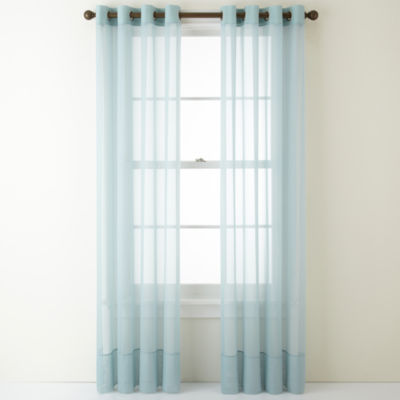 Sheer Curtain sheer curtain panels blue sheer curtains for window - jcpenney FRBPCHI