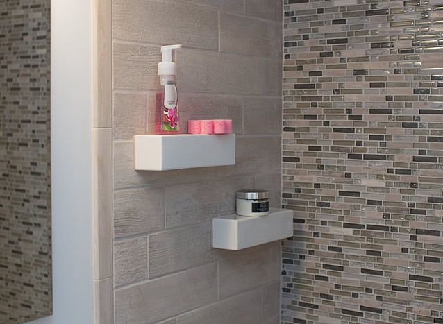 shower shelves modern shower shelf4 ... QVLOSYG