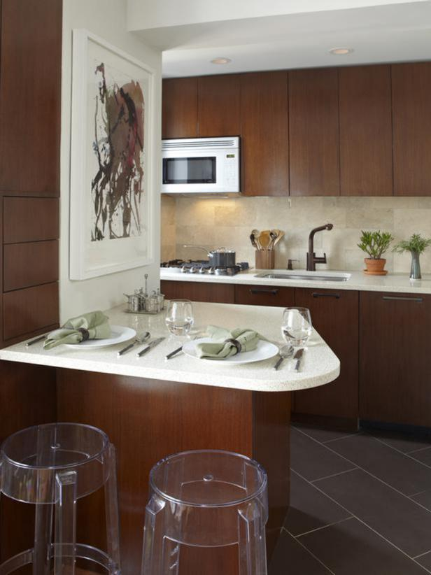 Small Kitchen Design from outdated to sophisticated MGKUQWA