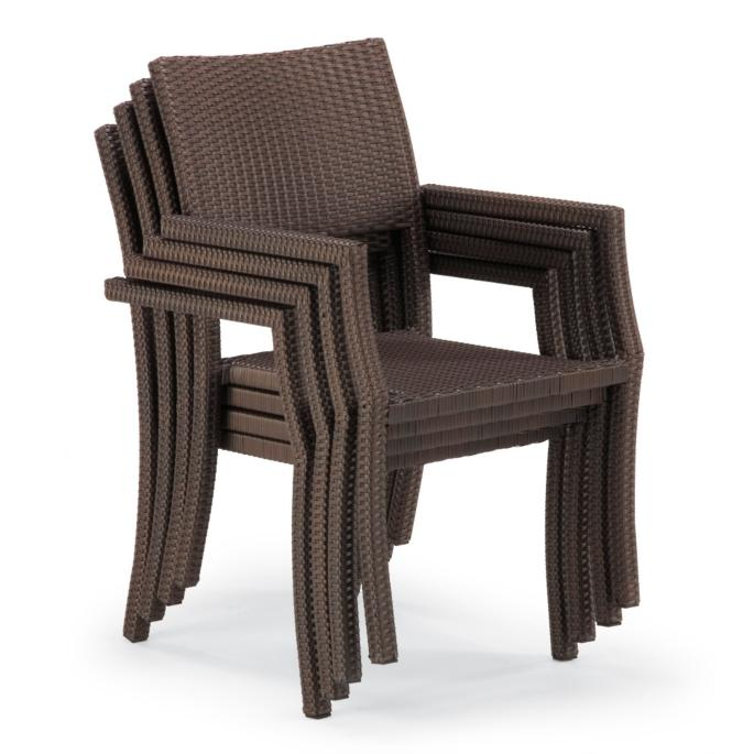 Stacking Chairs cafe square back stacking chairs, set of four BFYZERT