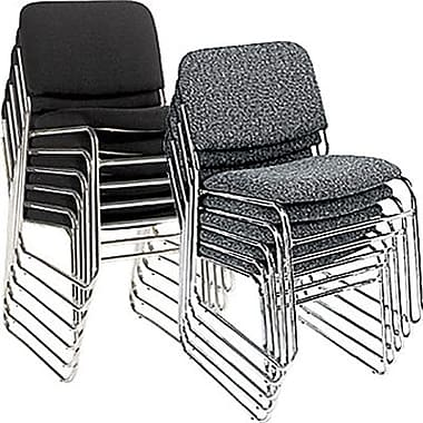 Stacking Chairs staples® deluxe chrome stacking chairs ROBHJOW