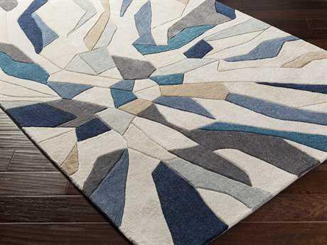 surya cosmopolitan rectangular beige u0026 teal area rug TIUABWW