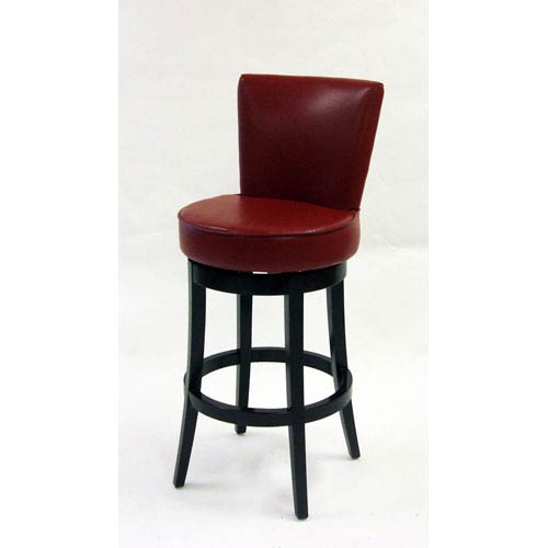 Swivel Bar Stools With Arms armen living boston 26-inch red bicast leather swivel barstool  764lc4044bare26_1 764lc4044bare26_2 SDPJBFU