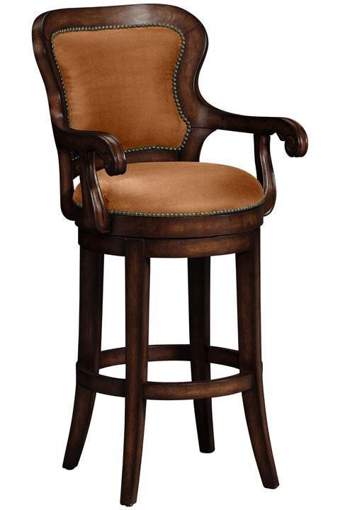 Swivel Bar Stools With Arms wood swivel bar stools with arms VPDJWFW