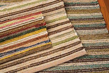 textured cotton rag rugs IEOFCMI