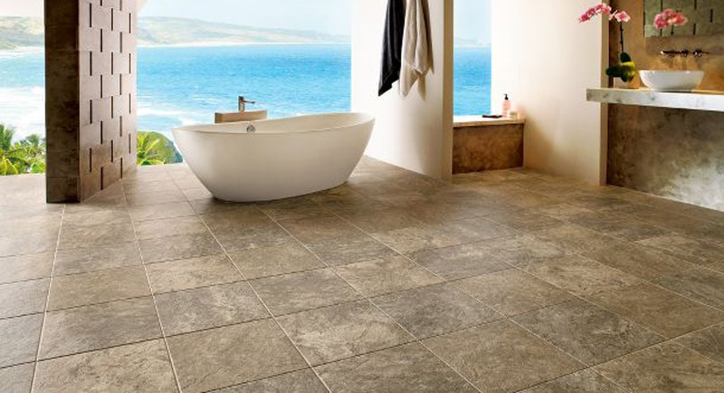 Travertine flooring – best choice for an imperial and natural stone floor