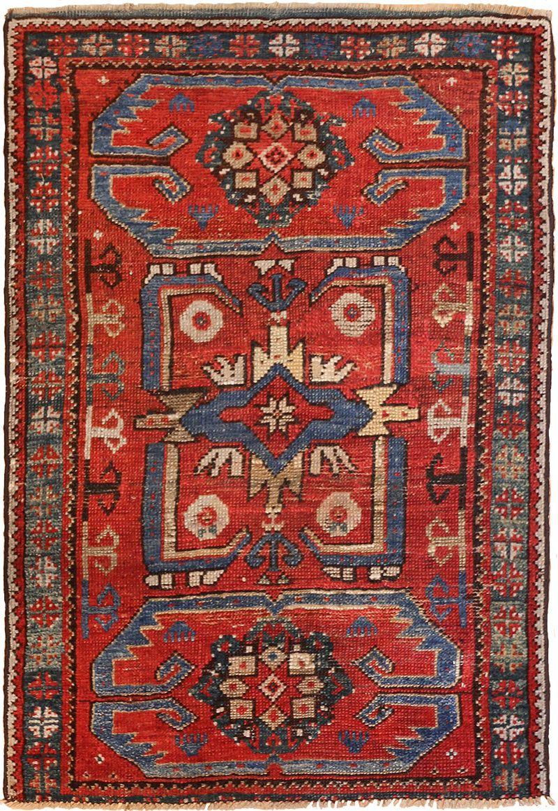 turkish rugs small geometric antique yastic turkish rug 48620 nazmiyal XGLJRBE