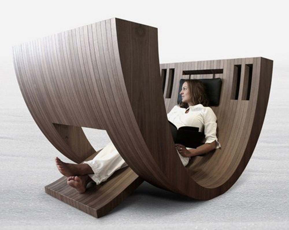 Unique Furniture unique curved chair claudio amore khosa interior design KLAHRYV