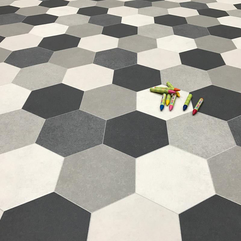 vinyl floor tiles cosystep goldie 586 cushion vinyl flooring ... ISTJCFL