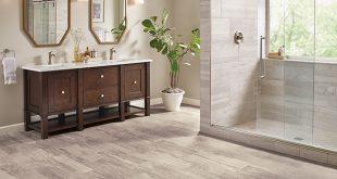 vinyl sheet flooring vinyl sheet in a bathroom - citadel rock - solar morning - b6325 JQEISNT