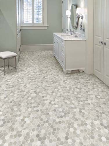 vinyl tile flooring bathroom easy living rich onyx| tarkett vinyl flooring | save 30-50% PSHTNMM