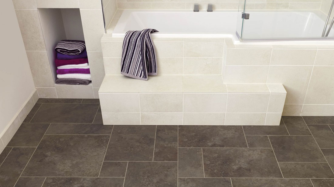 vinyl tile flooring bathroom luxury vinyl flooring bathroom luxury vinyl tiles, oxfordshire | kennington  flooring XBGERWM