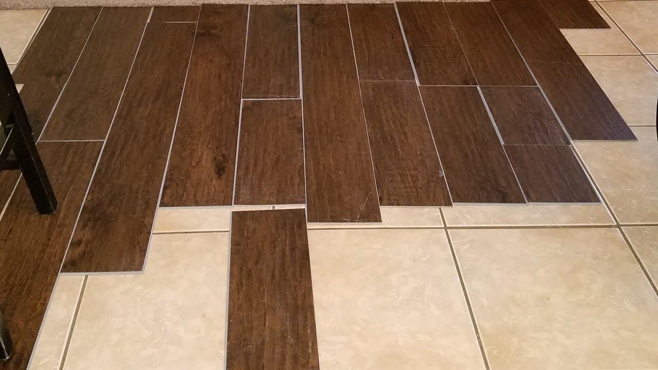vinyl wood flooring vinyl plank flooring over tile / should i do this? TCPTWBD