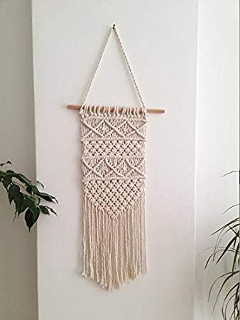 Wall Hangings amazon.com: macrame wall hanging, woven wall hanging, woven wall tapestry,  boho wall HDKNJMF