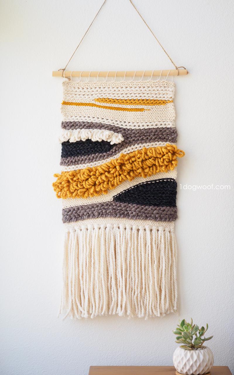Wall Hangings woven crochet wall hanging PCKJCSA