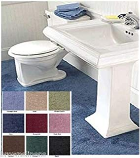 wall to wall bathroom carpet, 5u0027 x 6u0027 sand beige AANSSLO