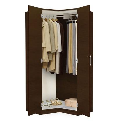 Wardrobe Closet alta corner wardrobe closet - free standing corner closet HALIDVZ