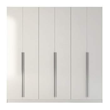 Wardrobe Closet manhattan comfort eldrige collection 6 door freestanding wardrobe closet  for bedroom use, IFTYHCP