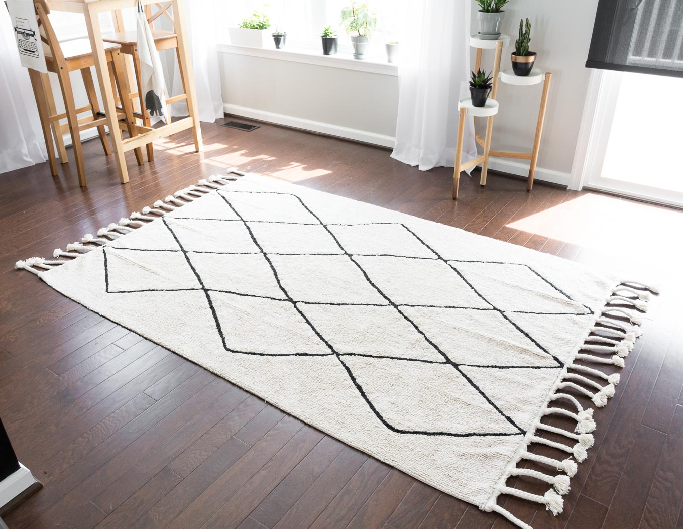 washable rugs from lorena canals VEISXDK