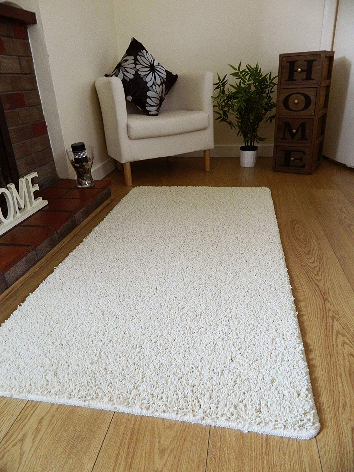 washable rugs ivory machine washable thick soft shaggy rug. available in 4 sizes. (66cm x GEQVYHK