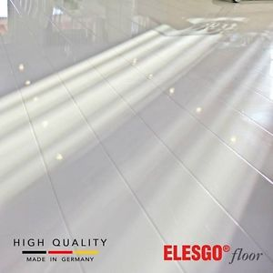 white laminate flooring image is loading elesgo-glamour-life-high-gloss-white-laminate-flooring JEBDWVK